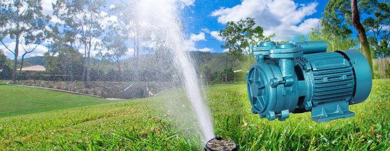 Giá máy bơm nước giếng khoan. Giá máy bơm nước trục ngang